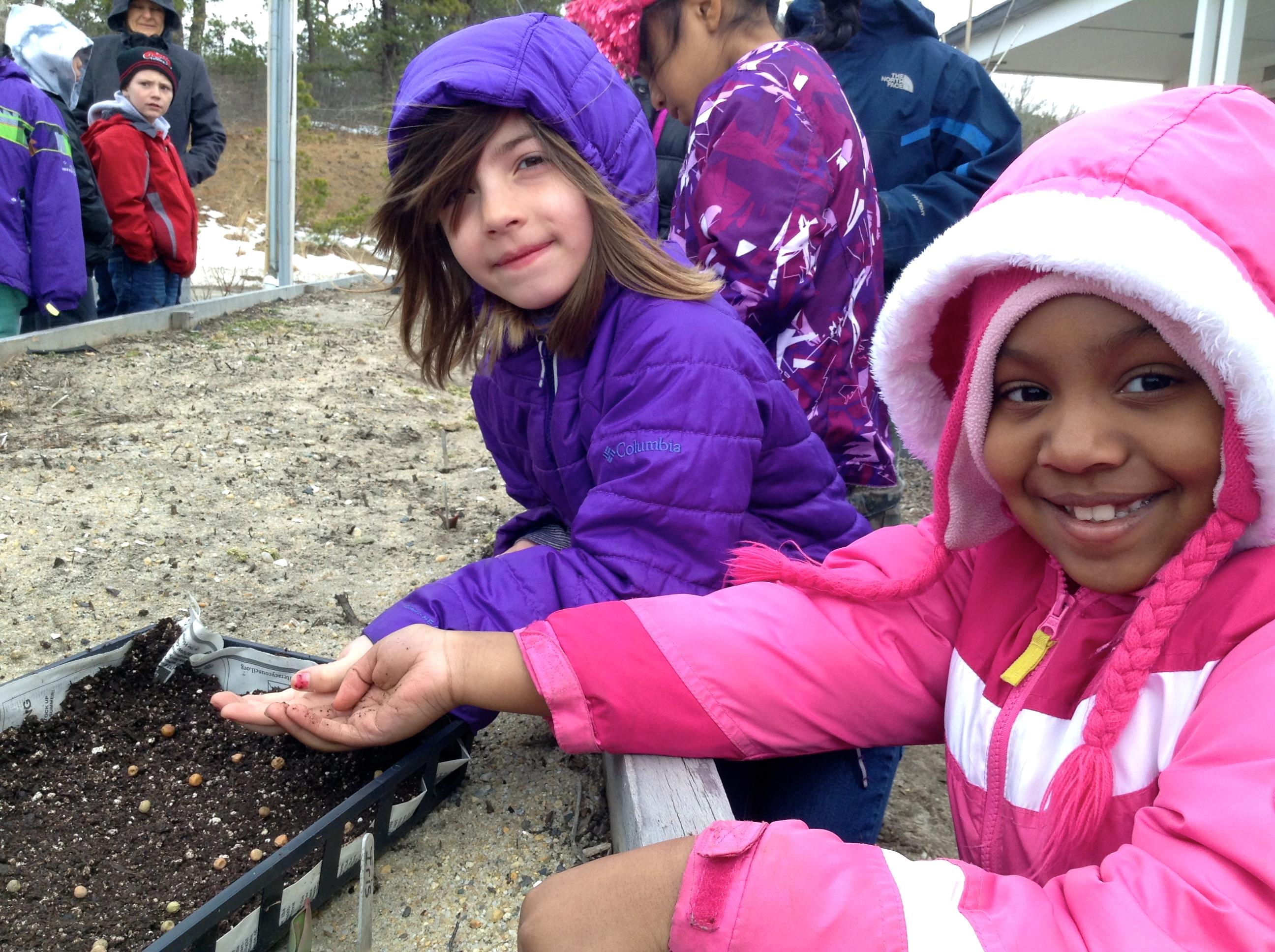 Children's Garden Spring Lesson 1:  Starting with Seeds!