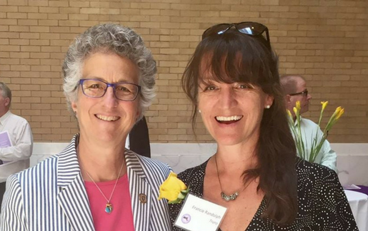 Rep. Sarah Peake & Francie Randolph